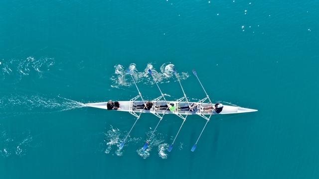 Cyprus canoe race